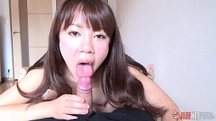 Adorable Cuties Blowing Cock